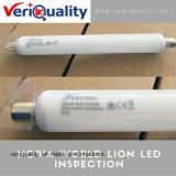 Servicio del examen del control de calidad del león LED en Shenzhen