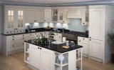 Gabinete de cozinha padrão #255 da madeira contínua do `da alta qualidade nova do projeto