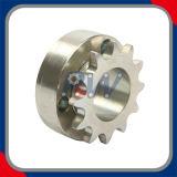 Покрынное никелем цепное колесо передачи (12T)