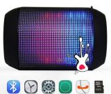 Bluetooth Speaker mit LED Light Flashing und USB Port Fmradio für Laptop, Computer, Handy oder Any Portable Audio Player