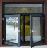 Roomeyeの熱壊れ目のアルミニウム開き窓のWindowsかエネルギー保存Aluminum&Nbsp; Casement&Nbsp; Windows (ACW-010)