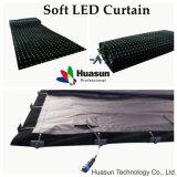 Mostrare ed organizzare la tenda utilizzata della flessione LED (FLC -200)
