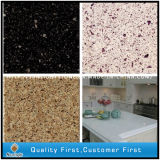 設計されたArtificial Solid Surface RedかBlack/Yellow Colors Quartz Stone Slabs
