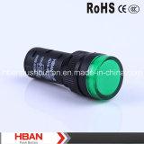 Hban 세륨 RoHS (16mm) Hbad16-16D Pilot Lamp