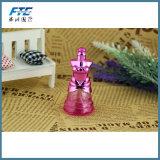 10ml de vrouwen kleden de Fles van het Huisdier van het Glas van het Parfum van de Room