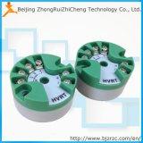 2 transmissor da temperatura da RTD 4-20mA PT100 do fio