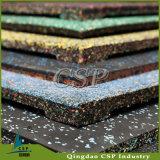 Het rubber Tapijt van de Vloer voor Gymnastiek