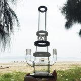 De reusachtige Super Sterke Rokende Pijpen van het Water van het Glas van het Ontwerp (S-GD-278)
