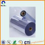 Cassetto della bolla che imballa lo strato libero rigido lucido del PVC