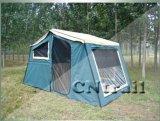 小型キャンピングカートレーラーのテント