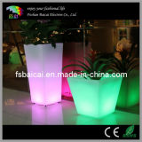 Beautiful Waterproof LED Square Flower Pot