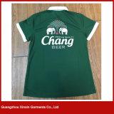 カスタム熱伝達印刷されたカラーポロのTシャツ(P39)