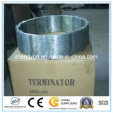 5.5mmの熱間圧延の鋼鉄アコーディオン式の有刺鉄線の棒のコイル