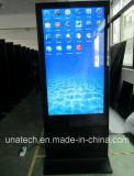 bekanntmachende Spieler 65/84inch LCDdigital Signage-Innenbildschirmanzeige mit Aluminiumrahmen