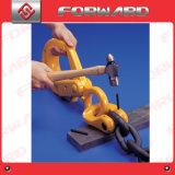 Encadenamientos de conexión de elevación del acero de aleación G100/G80 10m m para el alzamiento de elevación