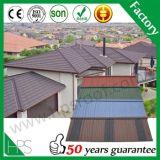 販売のための石造りの上塗を施してある金属の屋根瓦