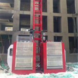 élévateur électrique de construction de cage de double de la capacité 2t à vendre