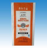 100% neues Material, das pp. gesponnenen Beutel für Weizen-Mehl verpackt
