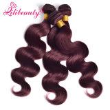 人間の毛髪のOmbreカラーRemyのカンボジアの毛