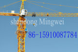 Qtz400L25-Max. Eingabe: 25 T Tower Crane mit Piece Mounted Mast Section