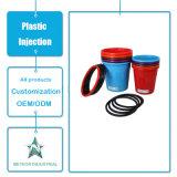 Modelagem por injeção plástica personalizada de escaninho de lixo do caixote de lixo plástico do agregado familiar dos produtos