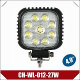 "4.9 "" 27W Spot Beam LED Working Light para Excavators/Bulldozer/Treedozer (CH-WL-012-27W)"
