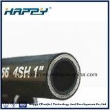 tuyau hydraulique chimique d'huile en caoutchouc d'industrie de la pression 4sh