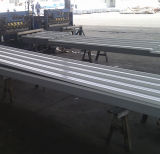 Feuilles ondulées galvanisées de toiture