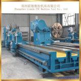 Máquina horizontal pesada del torno de la alta calidad de C61400 China para el corte