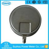 8inch200mm de Volledige Manometer van de Druk van het Type 1.6MPa van Bodem van het Roestvrij staal