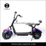 2お偉方の手段1000W 60V Citycoco Harleyの脂肪質のタイヤの電気スクーター