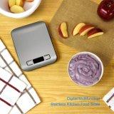 Alimento electrónico de la escala de la cocina del acero inoxidable que pesa escalas postales