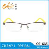 Form Halb-Randlose TitanEyewear Brille-Glas-optischer Rahmen (8202)