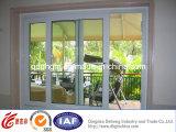 Preço barato Windows de tiragem residencial de alumínio