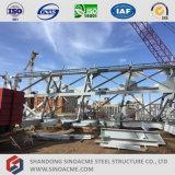 Sistema de transportador ligero prefabricado de la estructura del metal