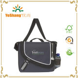 Adjustable multiuso Large Men Messenger Bag con Flap
