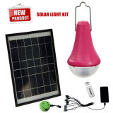 Bulbo solar portátil com o carregador Fuction do telefone do USB