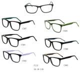 Het nieuwe Frame van het Schouwspel van Eyewear van de Acetaat van de Voorraad van de Stijl In het groot Optische F115