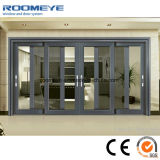 Portes en aluminium personnalisées d'isolation thermique et portes coulissantes en aluminium de Windows