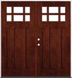Modèle diversifié par porte en bois en bois solide de porte de qualité