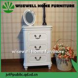 純木のNightstandの食器棚デザイン(W-B-0031)