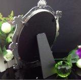 Fábrica de cristal del marco de la foto del diseño colorido oval