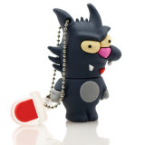 USB Flash Drive 64G Pendrive 32g Pendrive 64G 16GB 8GB 4G USB Stick Big Wolf Model Flash Drive USB2.0 Memory Stick