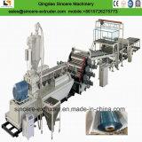 Extrusion claire rigide de feuille/plaque de PVC Vacuumforming faisant la machine