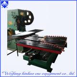 Sacador Ress del CNC del orificio de la placa de acero del acoplamiento de la pantalla hecho en China