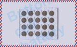 batteria di litio primaria 3V Cr1620 per la parte superiore della barretta