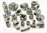 造られたステンレス鋼6000lbsのソケットの溶接の管付属品(SGSのセリウム、ISO)