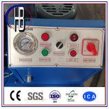"""セリウムのフィン力のTechmaflex Uniflex 1/4の"""" ~2 """"油圧ホースのひだが付く機械"""