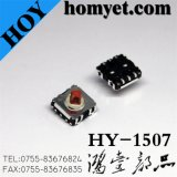Interruptor profissional do tacto do fornecedor com interruptor quadrado do sentido da tecla cinco de 7.8*7.8*5.1mm SMD