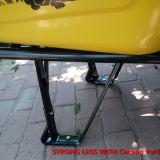 Fornecedor de China do carrinho de mão de roda da alta qualidade com uma roda